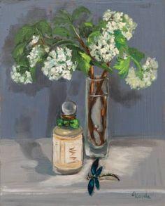 "Saatchi Art Artist Corinne Korda; Painting, ""Touch Of Spring"" #art"