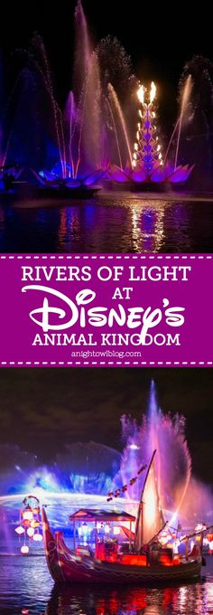 """We're closer than ever to the debut of """"Rivers of Light,"""" the newest nighttime offering that's set to debut at Disney's Animal Kingdom on February 17th. Today we have a sneak peek to share with you from our preview at Disney's Social Media Moms Celebration."""