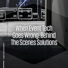 Technology can turn a simple event into one with global impact and that's why you can't have slip ups. Read our blog for insight on how to keep your event going even when facing obstacles.  . #technology #virtualreality #artificialintelligence #techtrends #events #phenomenon #eventtrends #eventing #corporateevents #eventplanners #eventblogs #trends #eventprofs #corporateevents #eventblogs