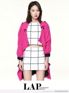 HyoJin, Gong she is in Hot Pink