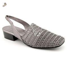 2c59d7770cad Karen Scott Carolton Women US Silver Slingback Heel