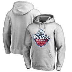 NHL 2017 Winter Classic Event Logo Pullover Hoodie - Gray - $47.99