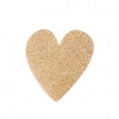 Coração Glitter