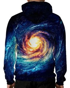 The Big Bang Unisex Hoodie-male back