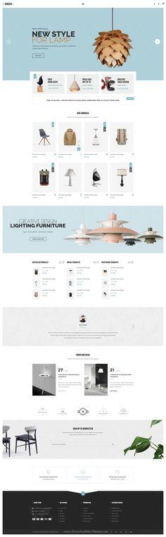 Eren is #PSD Multipurpose #Template for stunning #eCommerce website. Download Now!
