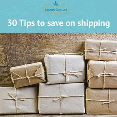 Are you running an e-commerce store and wondering how to save on shipping? Here are over 30 tips from entrepreneurs and e-commerce owners.