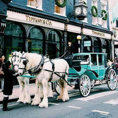 Tiffany's and it's carriage