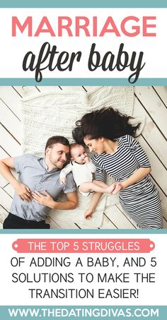 Great tips on how to brave the changes in a marriage after baby!