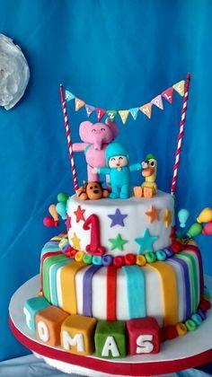 Torta de pocoyo  Pocoyo Cake