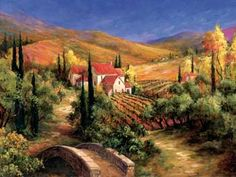 Google Image Result for http://www.enjoyart.com/library/landscapes/tuscanlandscapes/large/Tuscan-Bridge--by-Art-Fronckowiak-.jpg