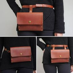 Simple and beautiful bag made of a high quality leather. Perfect for festivals, markets and travelling. 3 in one - and each time you will have a new stylish image. This leather will patina beautifully over time and become uniquely yours. The leather belt bag has one big compartment and