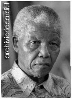 Nelson Mandela  foto Maurizio Riccardi© Archivio Riccardi.it
