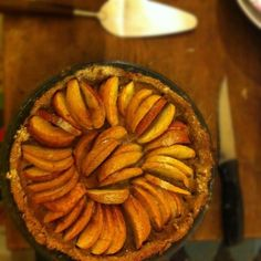 it WAS good, appel pie with cinnamon and chestnut flour crust
