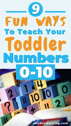 How To Teach Your Toddler Numbers (9 SIMPLE STRATEGIES) - ABC Dee Learning