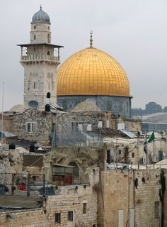 Francesco Dazzi, Jerusalem - the Dome of the Rock Mosque