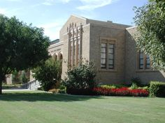 Ponca City Library - photo by Susan Hill