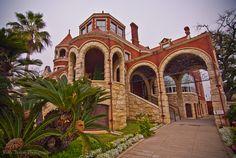 Galveston, TX Moody Mansion, circa 1895, has 28,000 sq feet.  photo taken by Kelly Torian