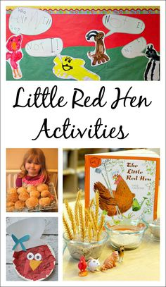 Little Red Hen Activities - fun ideas for extending the classic story