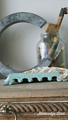 Groene kwispedoor/ Green spittoon