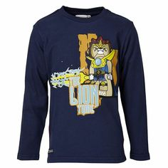 Cool Chima T-shirts #http://www.littlesweethearts-christening.co.uk/Lego_Wear_Boys/Lego_Wear_Chima_T_Shirt_Navy_THOR_703 #Lavallion #LEGO #Legochima