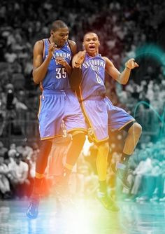 26f91548b0cd kevin durant kd russell westbrook okc thunder to favorite players