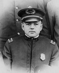 Roy Olmstead in Seattle Police uniform