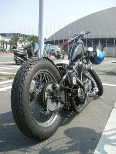 Bobber Inspiration | Ironhead | Bobbers and Custom Motorcycles | taku420 July 2014