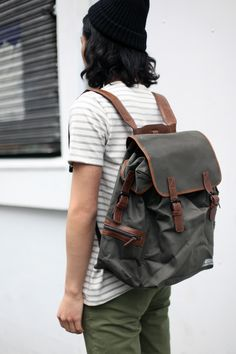 It's Back!   https://marketplace.asos.com/listing/bags/khaki-backpack/426298