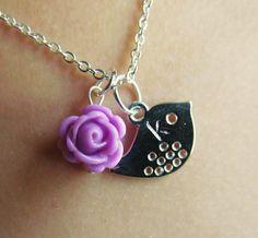 Flower girl jewelry Personalized flower girl by KallyJewelryDesign