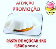 ATENÇÃO: PROMOÇÃO Pasta de açúcar de 1kg 4,50€ (Azucren)
