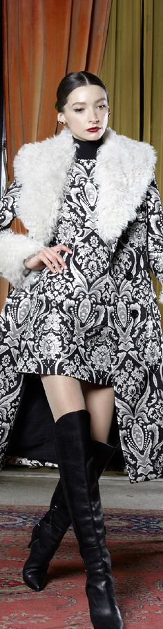 #Farbbberatung #Stilberatung #Farbenreich mit www.farben-reich.com Fall 2015 Ready-to-Wear Alice + Olivia