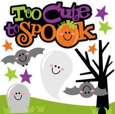 Too Cute To Spook SVG Scrapbook Collection halloween svg files for scrapbooking halloween cut files for scrapbooks