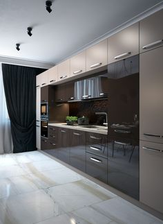Things You Should Know About Best Modern Kitchen Cabinets Design Decoration Ideas You ought to use the top cabinets when you require additional storag. Kitchen Cabinet Design, Kitchen Remodel, Kitchen Decor, Contemporary Kitchen, Kitchen Modular, Kitchen Room Design, Kitchen Furniture Design, Modern Kitchen Design, Kitchen Design