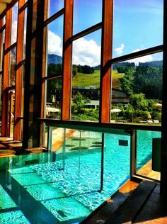 Falkensteiner Hotel and Spa Carinzia . Nassfeld, Austria.  This place looks really relaxing <3