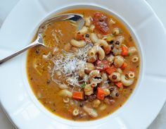My Favorite Pasta e Fagioli (Pasta & Bean Soup)