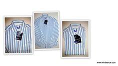Yarn Dyed multi col Stripe shirt