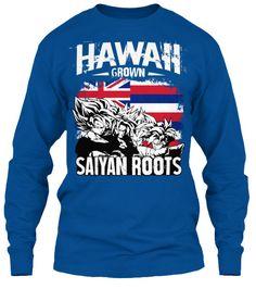Super Saiyan Long Sleeve Shirt - FOR HAWAII FANS - TS00165LS