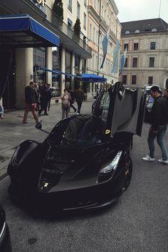 mistergoodlife: Blacked out LaFerrari | Mr. Goodlife | Instagram