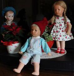 wunderschöner Käthe Kruse Puppenjunge Hampelchen 60er Jahre   eBay