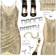 Dance Party!(yoins 17) by meyli-meyli on Polyvore featuring moda, Paul Andrew, danceparty, wintersweater, yoins, yoinscollection and loveyoins