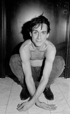 IggY PoP In BlaCk anD WhiTe on Pinterest | Iggy Pop, The Stooges ...