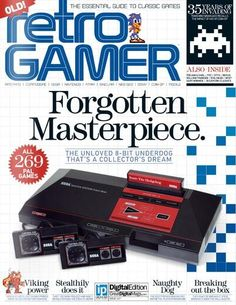 Get your digital subscription/issue of Retro Gamer-Issue 117 Magazine on Magzter and enjoy reading the magazine on iPad, iPhone, Android devices and the web. Sony, Atari Video Games, Sega Master System, Nintendo Sega, Neo Geo, Arcade, Retro Gamer, Geek Squad, Videogames