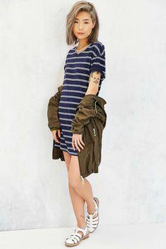 BDG Estelle Boyfriend T-Shirt Dress - Urban Outfitters