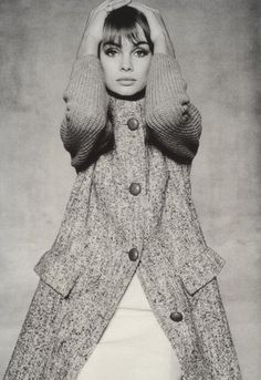Jean Shrimpton photographed by David Bailey, 1964.