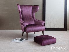 pheonix fabric armchair