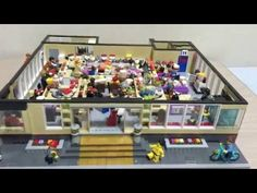 Conveyer belt sushi restaurant built with LEGO Power Functions [Video] | The Brothers Brick | LEGO Blog