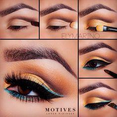 Eye Makeup Tips – How To Apply Eyeliner Makeup Eye Looks, Eye Makeup Tips, Makeup Trends, Makeup Ideas, Beginner Eyeshadow, Looks Dark, Make Up Anleitung, Beauty Make-up, Dark Skin Makeup