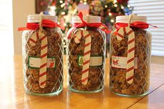 Sew Stylish Boutique: Home Made Granola Christmas Gift