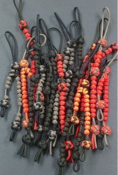 http://www.paracordist.com Paracordist Creations LLC: Worlds Best, Most Durable Paracord Army Ranger Pace Counting Beads, Hands Down #paracord #paracordist #armyranger #landnav