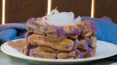 These ube waffles are soft, chewy, and perfect for a Pinoy breakfast with a twist!